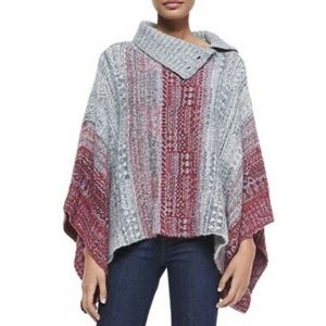 """Free People """"Willow"""" Poncho - Women's Size XS"""